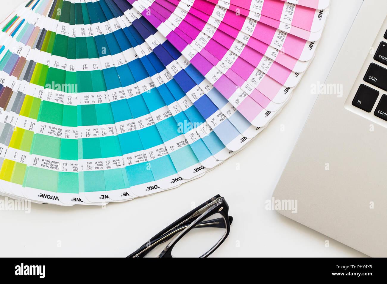 Pantone Color Stock Photos & Pantone Color Stock Images - Alamy