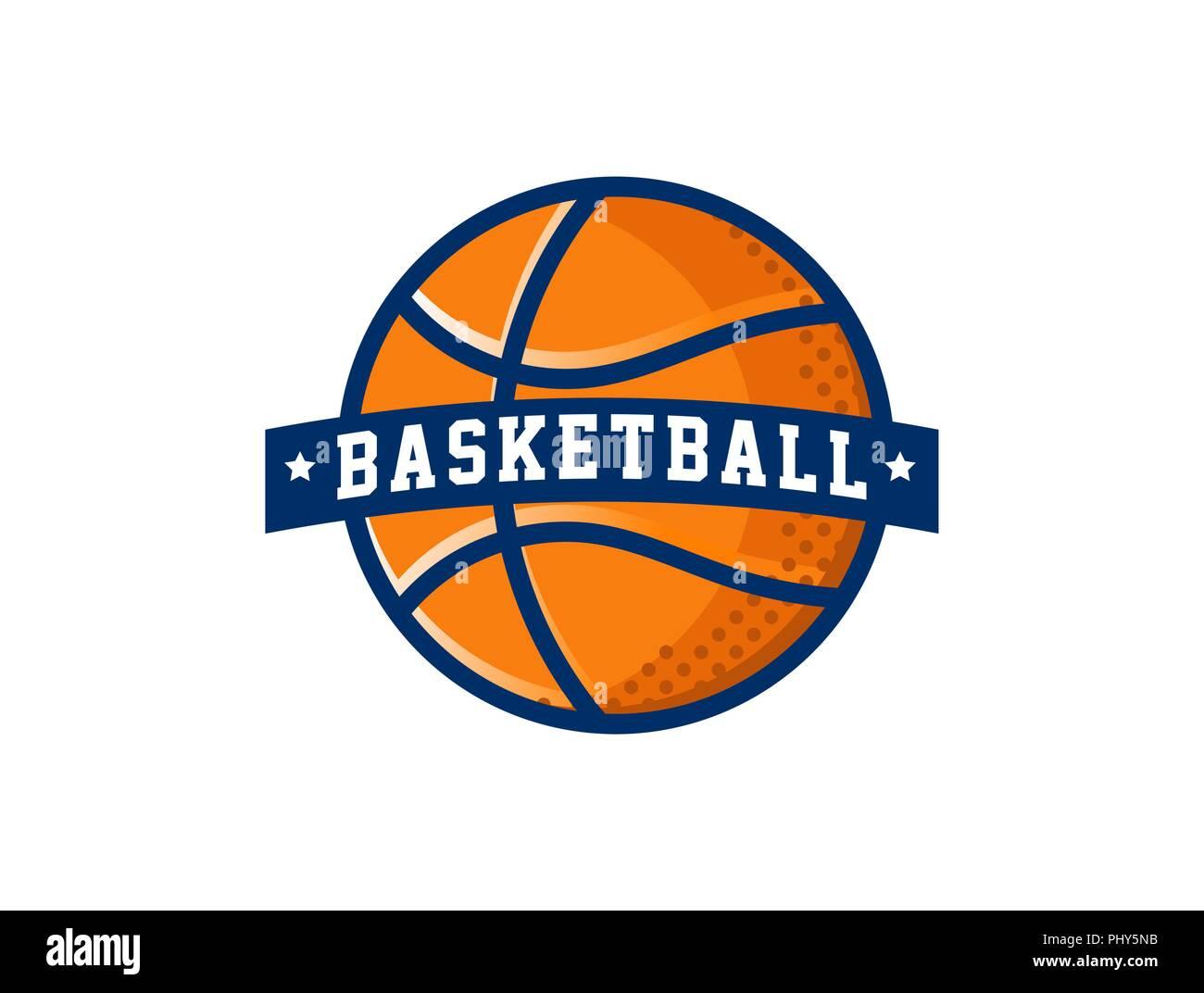 basketball logo american sports vector symbol and icon stock vector