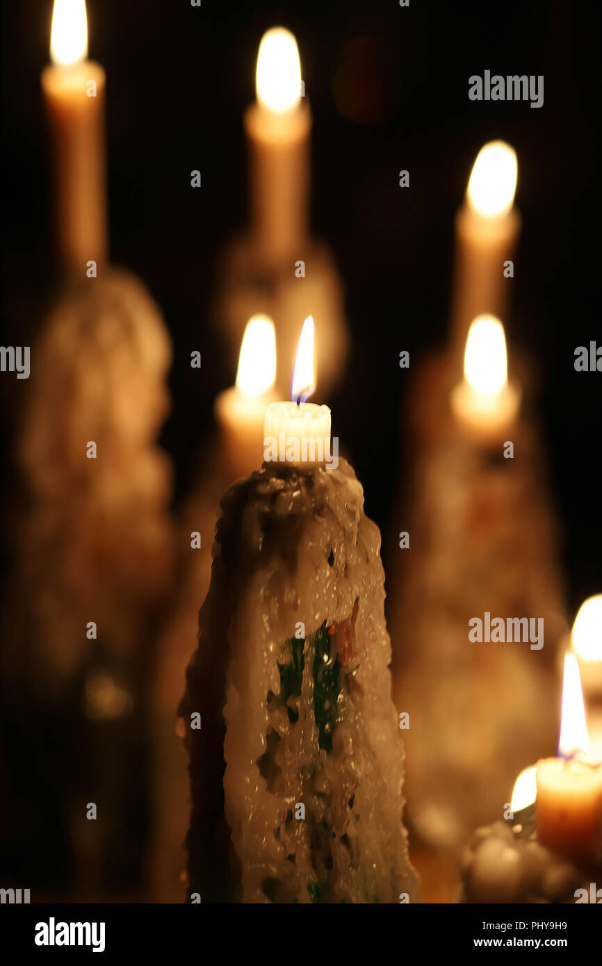 All Saints Day Candles Stock Photos All Saints Day Candles Stock