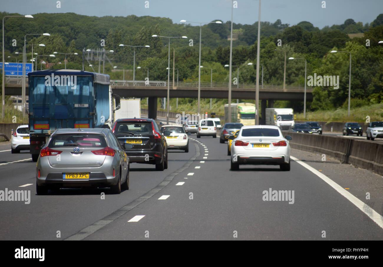 A1 Dual Carriageway Stock Photos & A1 Dual Carriageway Stock