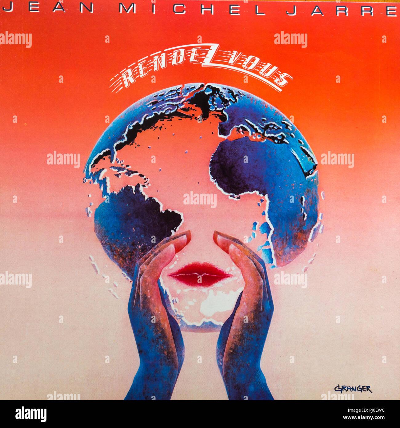Jean-Michel Jarre Rendez-Vous album cover - Stock Image