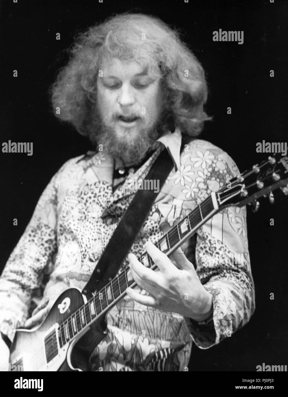 martin barre jethro tull 1978 stock photo 217605979 alamy. Black Bedroom Furniture Sets. Home Design Ideas