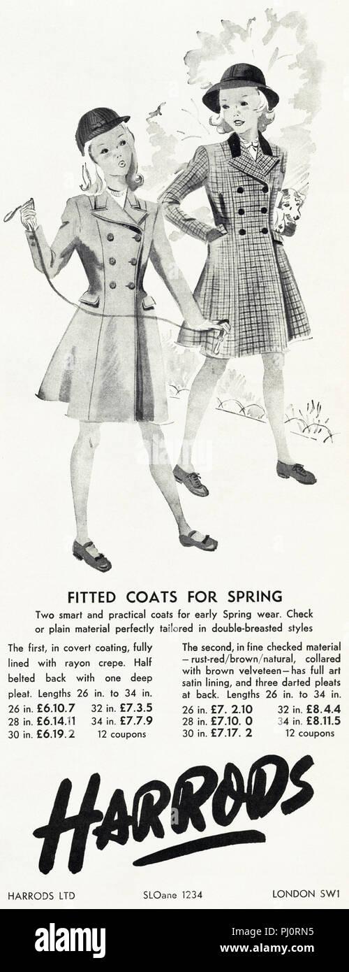Vintage Coats Design Stock Photos & Vintage Coats Design