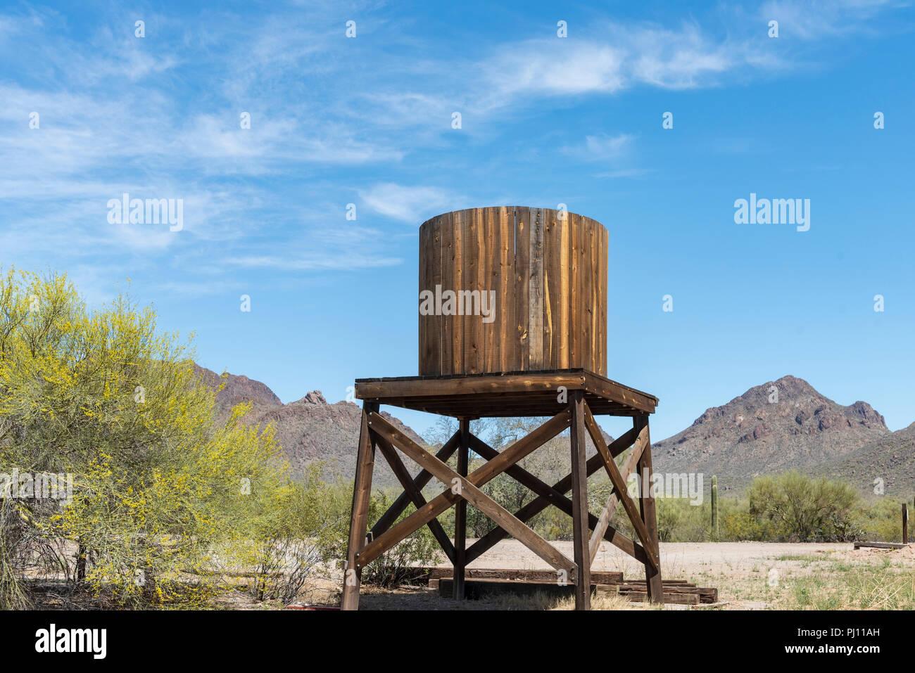Platform Holding Water Tank Stock Photos & Platform Holding