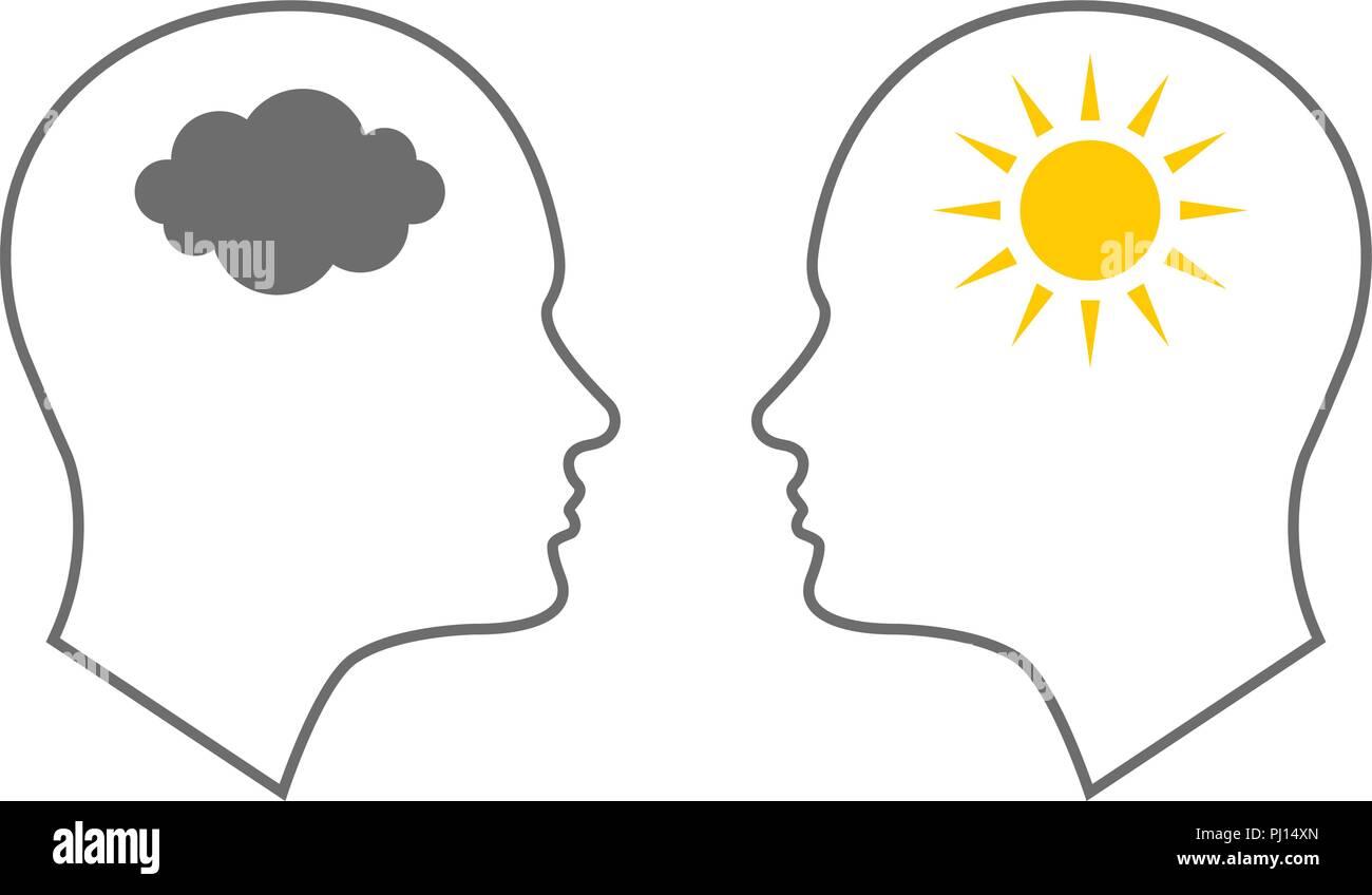 Bipolar Disorder Stock Vector Images Alamy