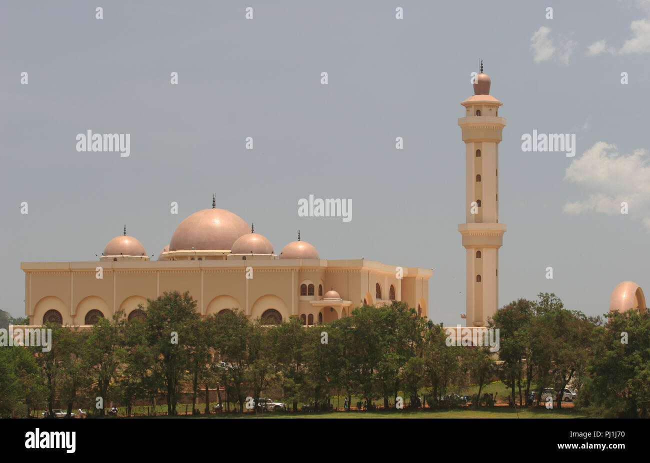 The Gadaffi Mosque, Kampala, Uganda. - Stock Image