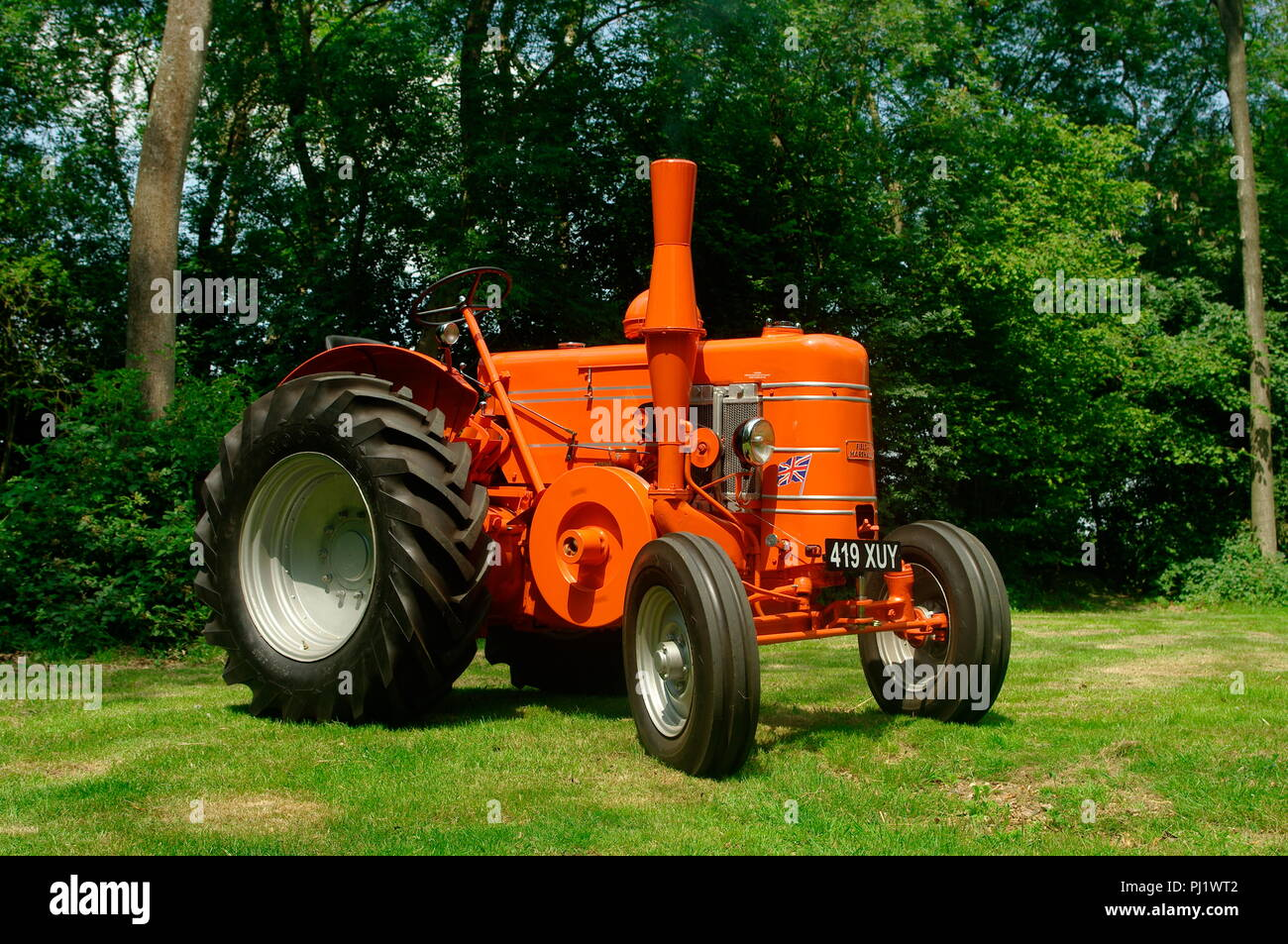 1954 Field Marshall Series 3A tractor Stock Photo