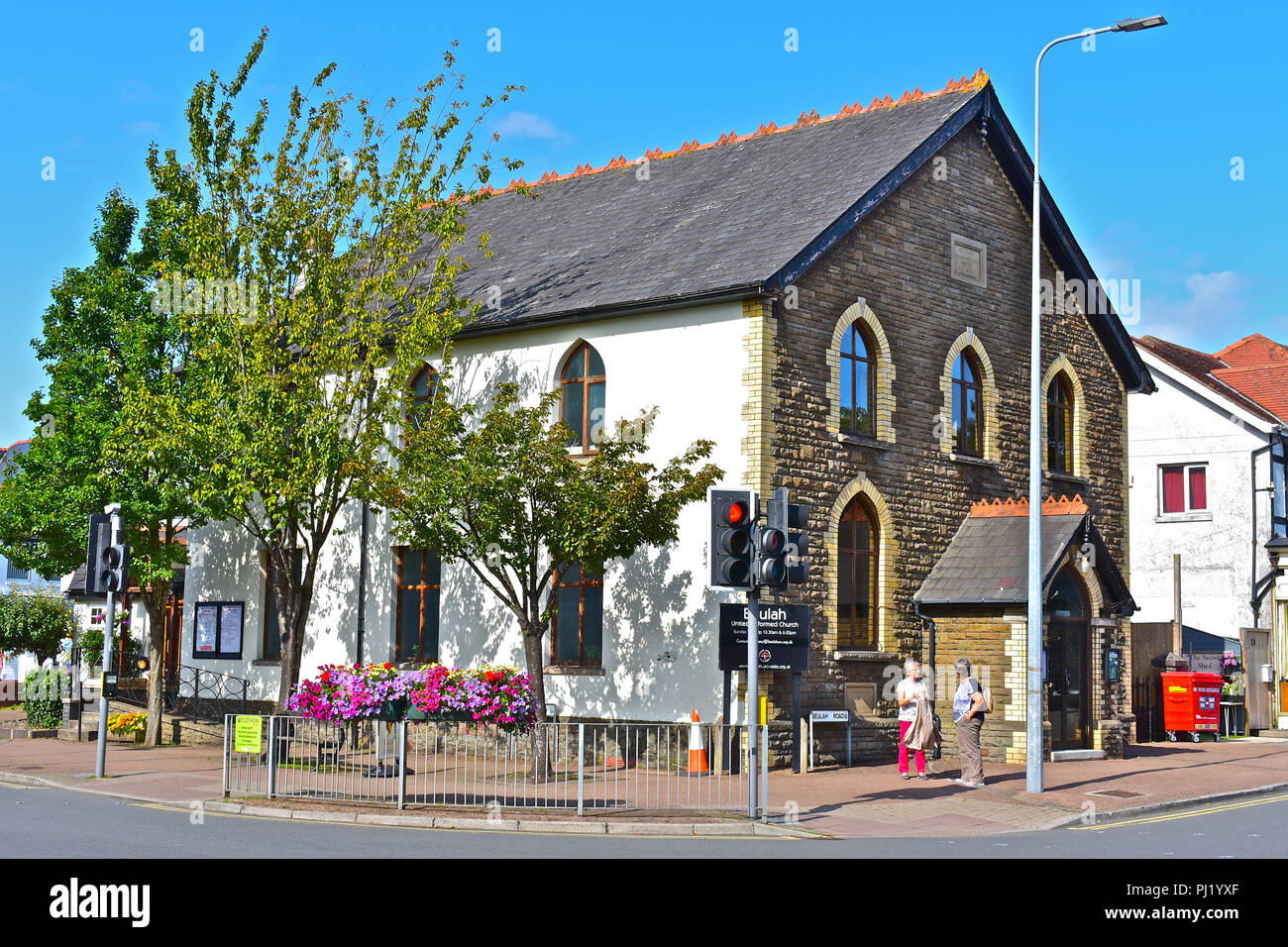 Beulah United Reformed Church in Beulah Road, Rhiwbina, Cardiff, S.Wales - Stock Image