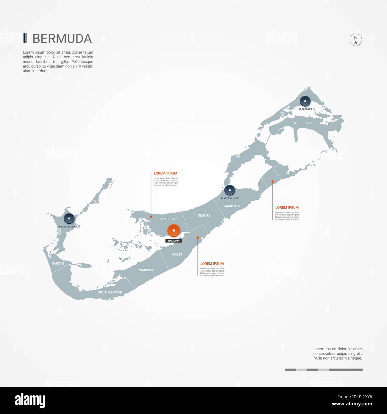 Bermuda Map Stock Photos & Bermuda Map Stock Images - Alamy