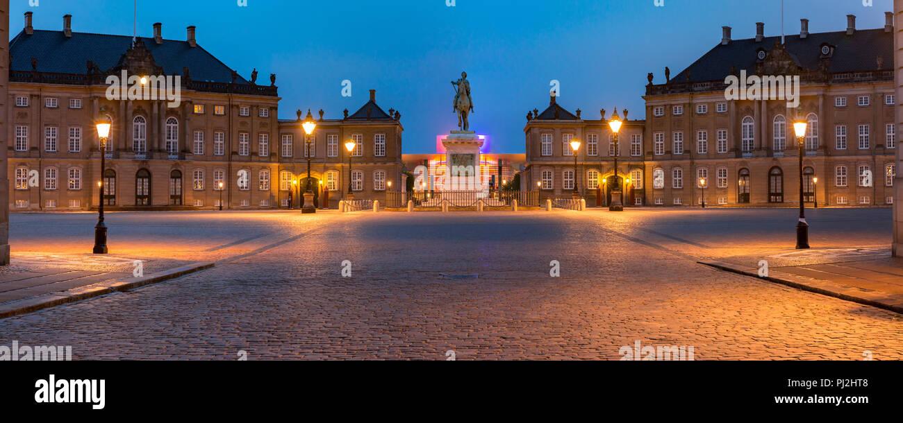 Christiansborg palace in Copenhagen, Denmark - Stock Image