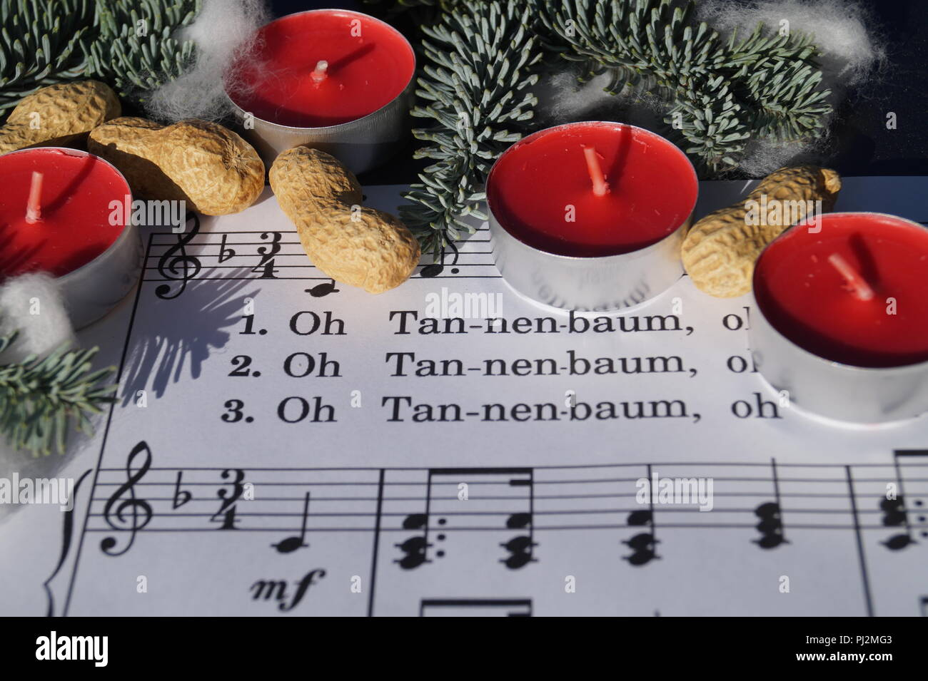 Christmas songs Stock Photo: 217648259 - Alamy