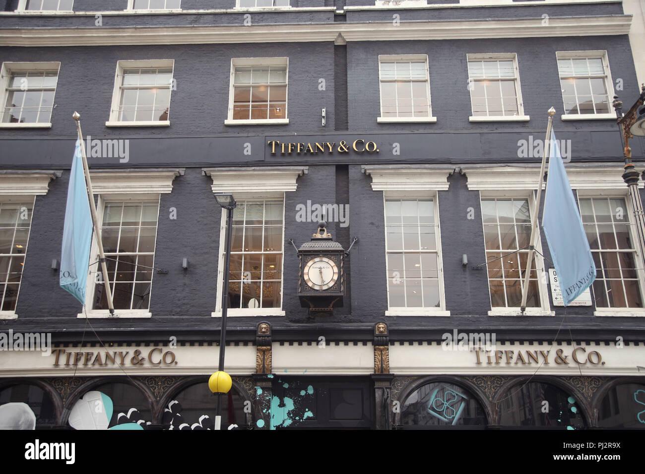 bfb28300ba68 The Tiffany   Co store on New Bond Street