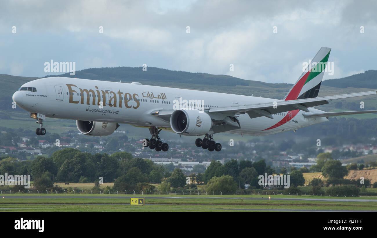 Emirates international flights coupons
