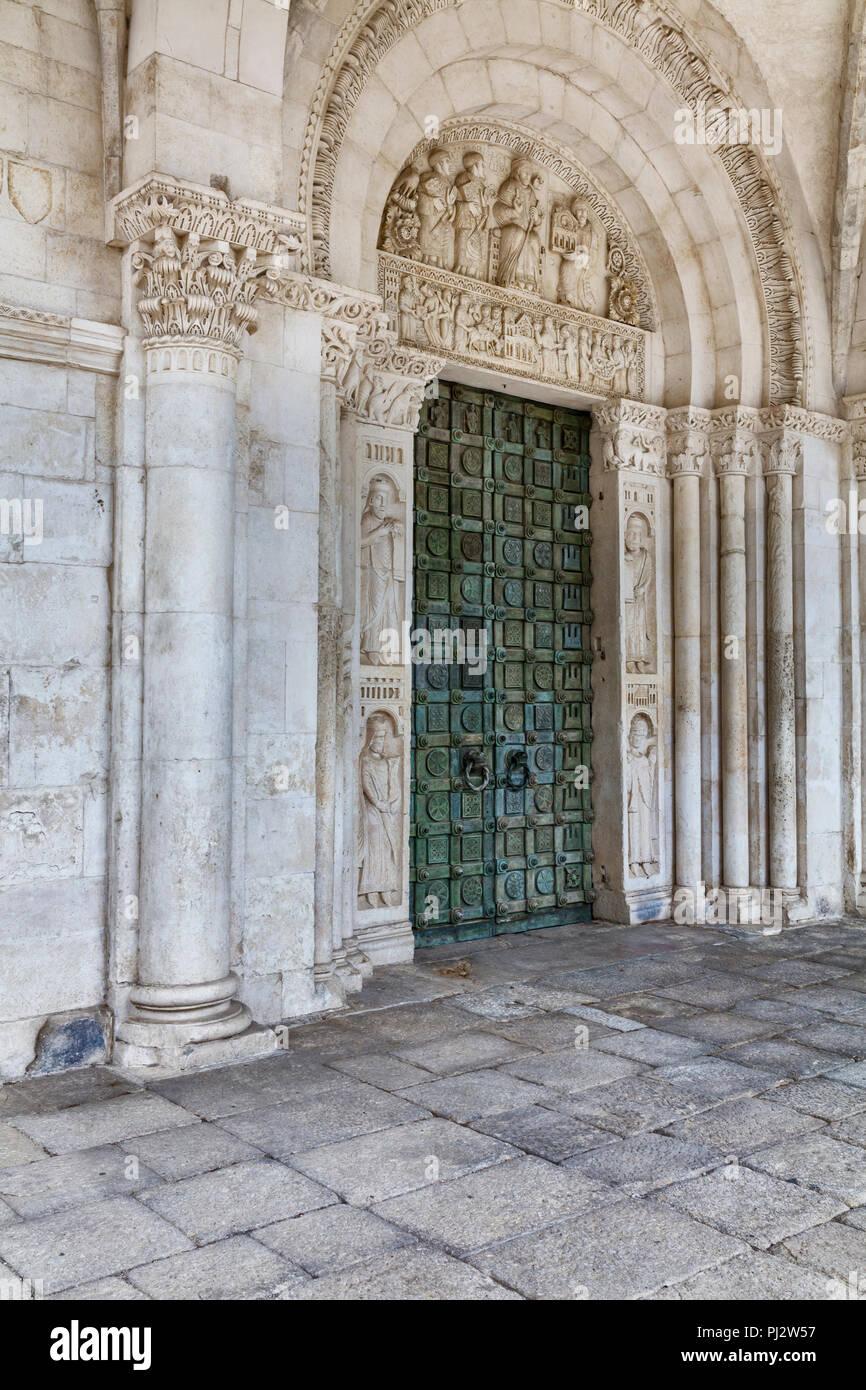Abbey of San Clemente a Casauria, Pescara, Abruzzo, Italy Stock Photo