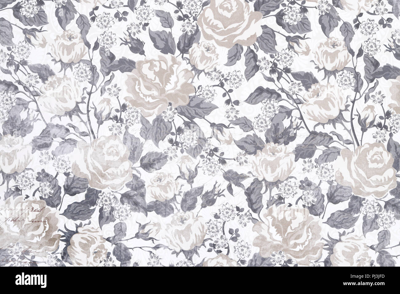 Floral Vintage Seamless Pattern Background Wallpaper With Pastel