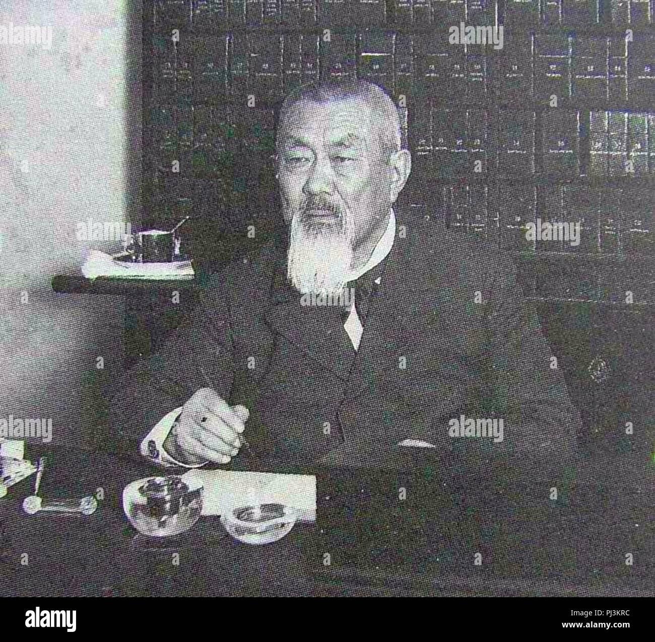 Badmaev P.A. 1913-16 Karl Bulla. - Stock Image