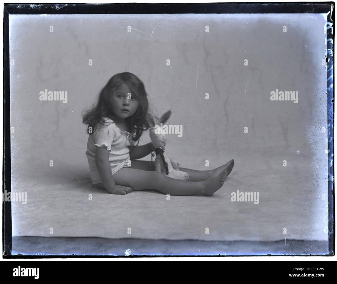 Baby Elmes, 11 Nov 1911 - Stock Image