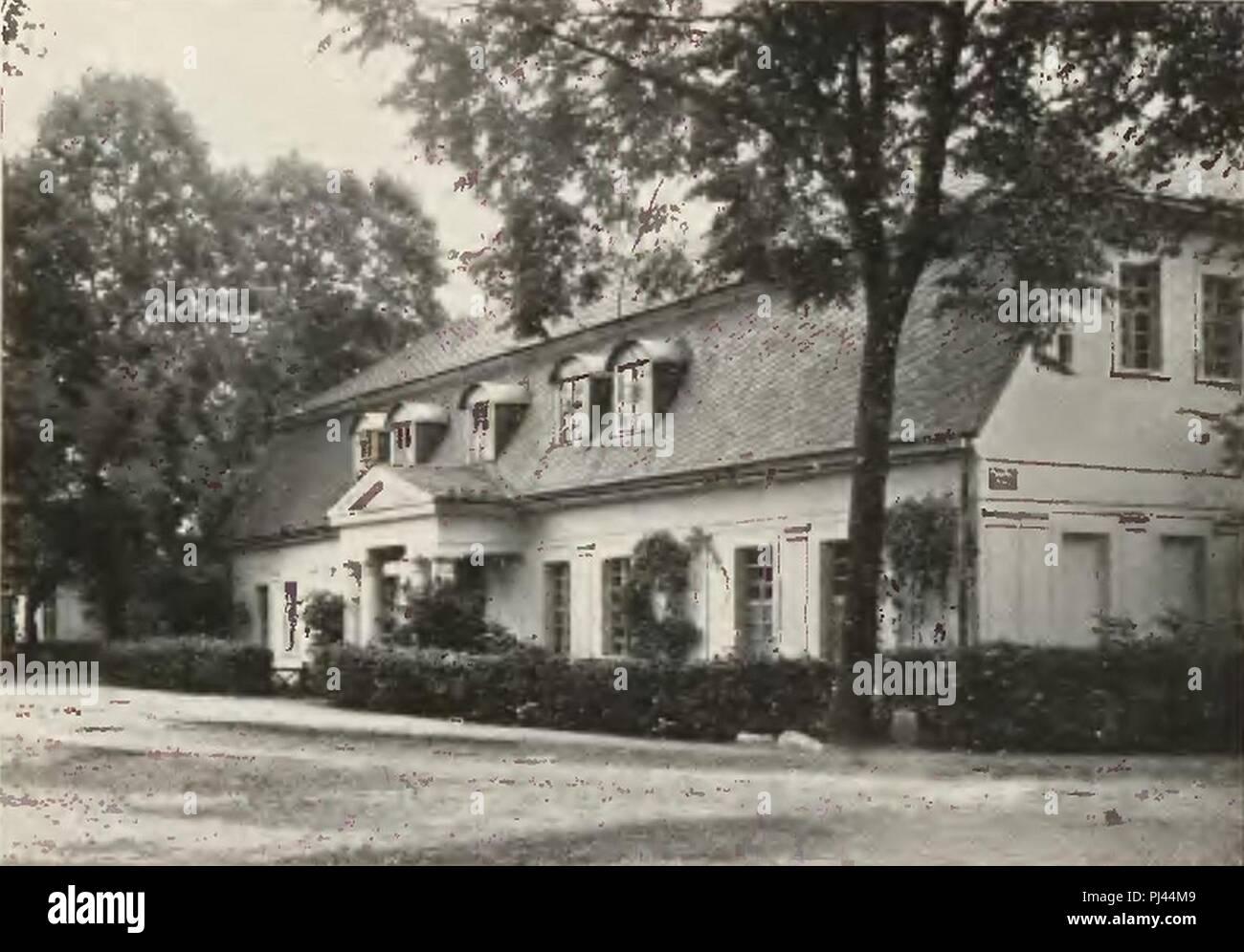 Bad Carlsruhe Kavaliershaus. Stock Photo