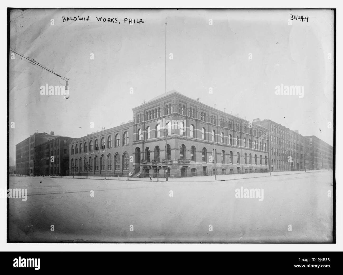 Baldwin Works, Phila. - Stock Image