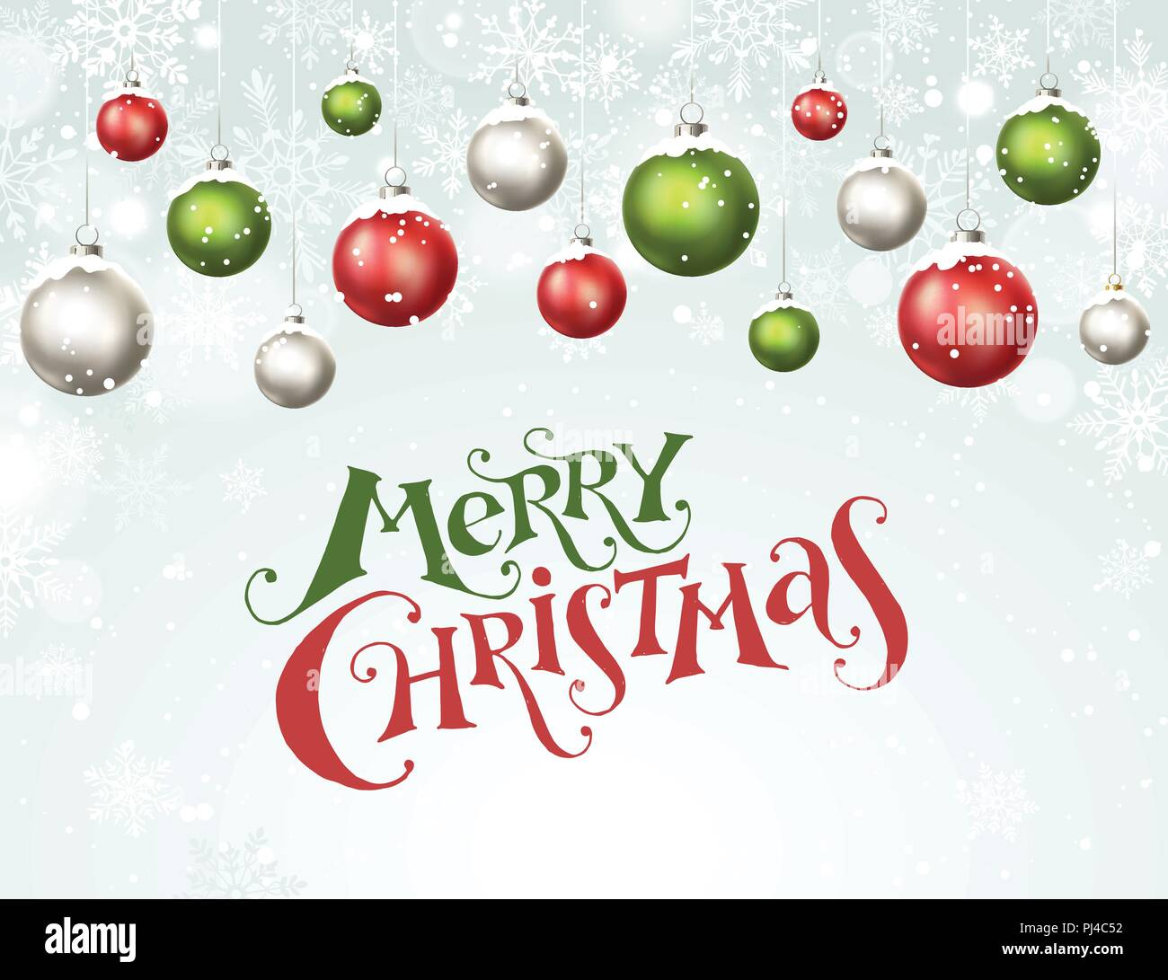 Happy holidays greeting card. Colorful and bright Merry Christmas ...