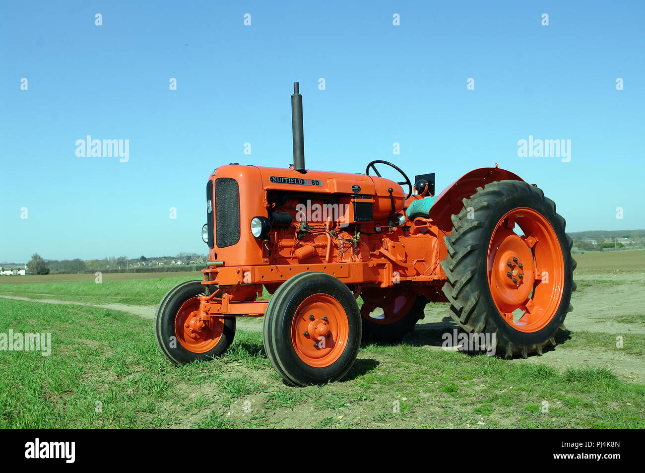 1962 Nuffield 460 tractor Stock Photo