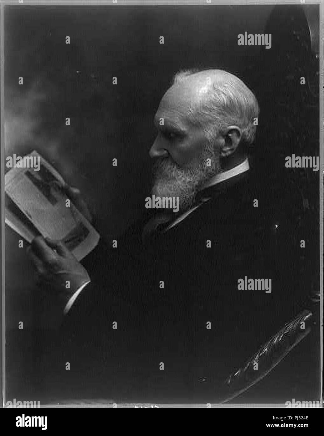 Baron) William Thomson Kelvin 1824-1907 - Stock Image