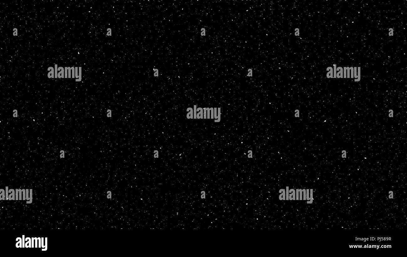 Stars background, black sky, large size image - Stock Image