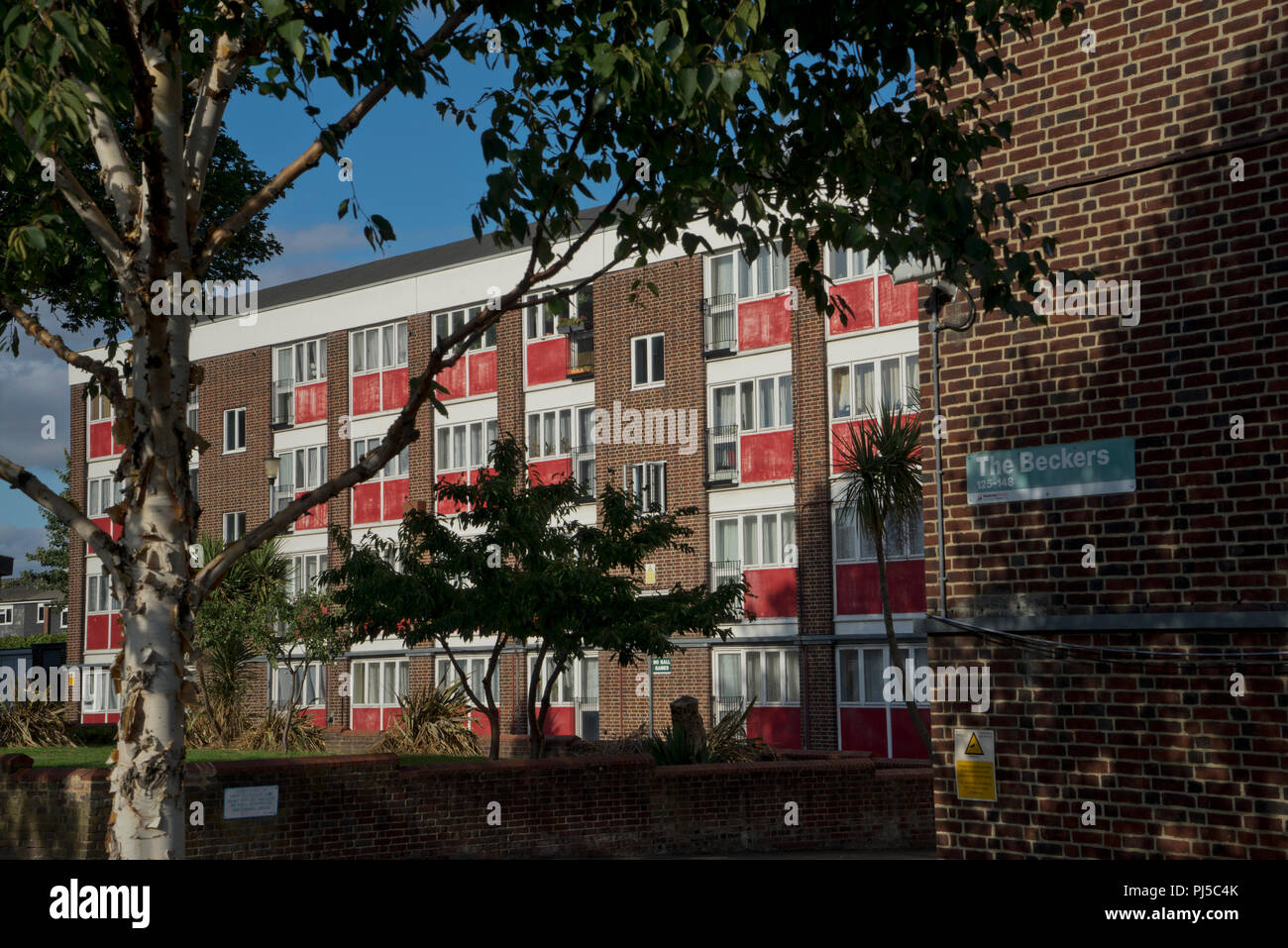Run Down Council Housing Estate To Be Demolished To Build New Luxury  Housing Blocks In Hackney,London,England,UK