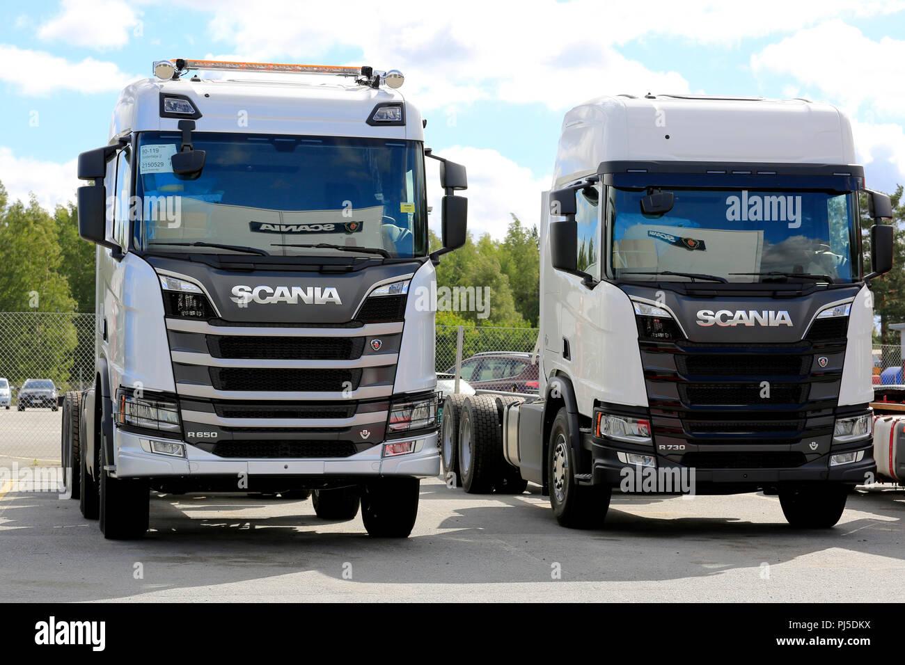 Scania Logo Stock Photos & Scania Logo Stock Images - Alamy