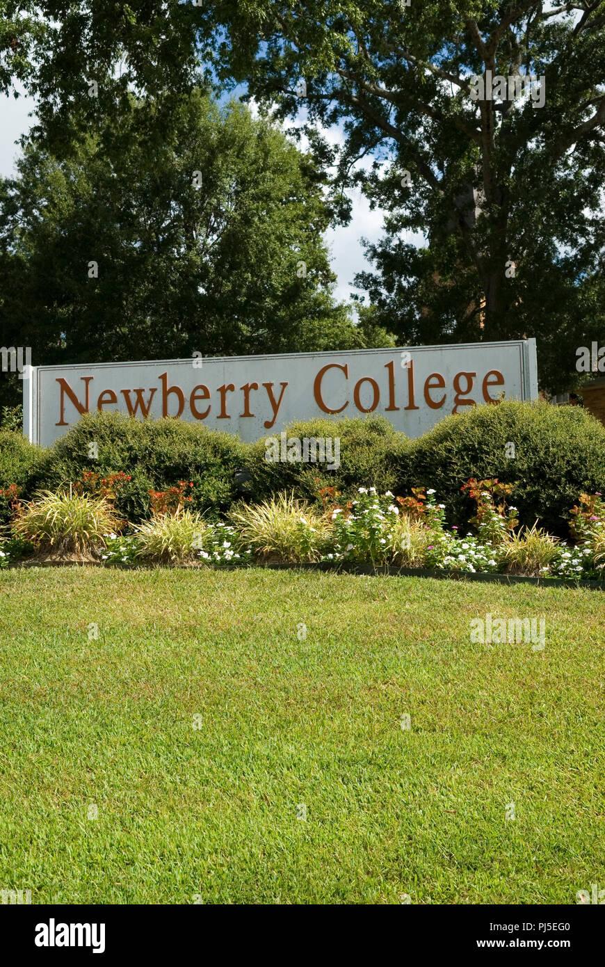 Newberry College South Carolina USA - Stock Image