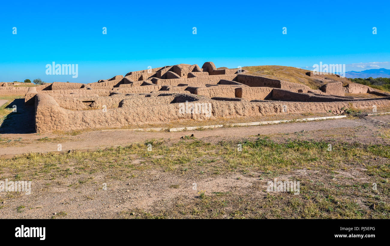 Casas Grandes (Paquime), a prehistoric archaeological site in Chihuahua, Mexico. It is a UNESCO World Heritage Site. - Stock Image
