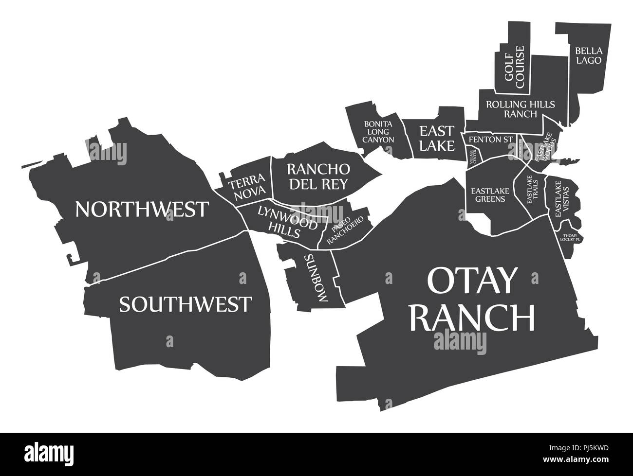California City Map on