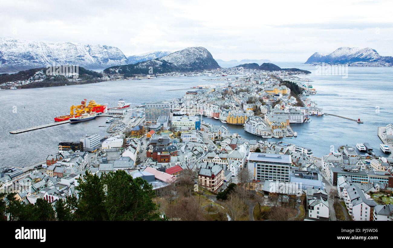 ålesund, norway - Stock Image