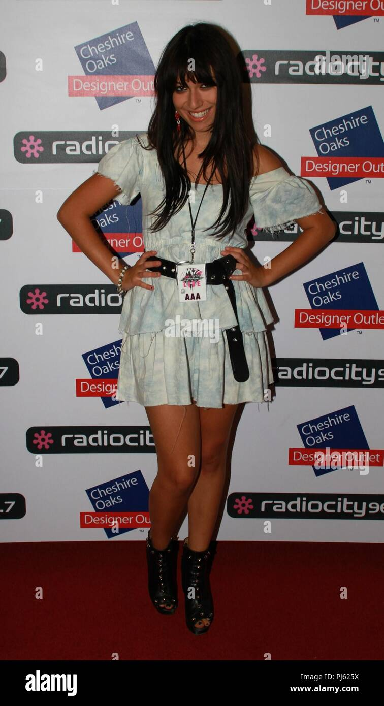 Liverpool,Uk Artistes attend Radio City Live at Liverpool Echo Arena credit Ian Fairbrother/Alamy Stock Photos - Stock Image