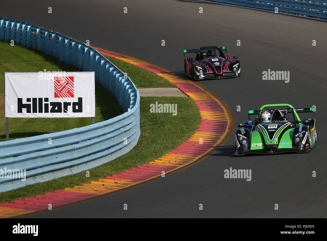 September 2, 2018: Radical Racing driver, Alan Shaw #991