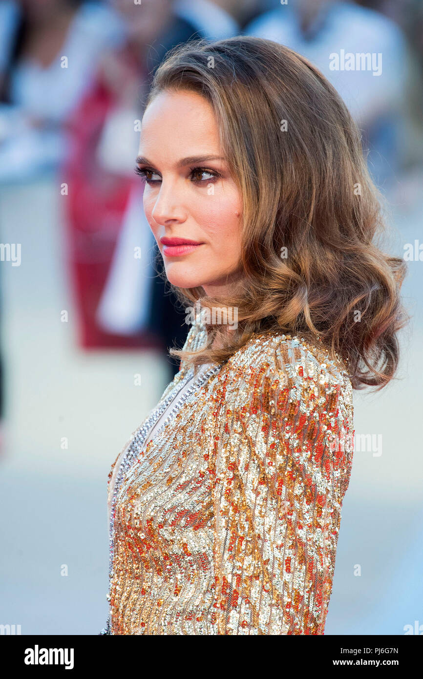 Venice Italy 4th Sep 2018 Natalie Portman Attending The Vox Lux Premiere At The 75th Venice International Film Festival At The Palazzo Del Cinema On September 04 20189 In Venice Italy Credit