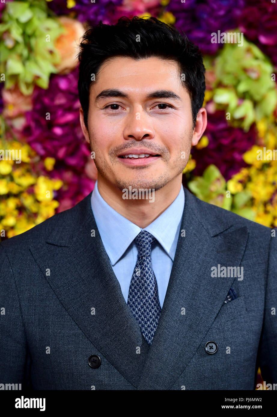 Henry Golding attending the Crazy Rich Asians Premiere held at Ham Yard  Hotel, London.