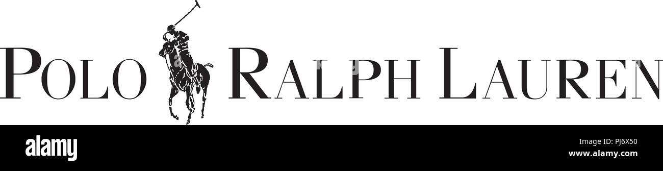 80434fdc6f3d3d polo ralph lauren classic logo fashion luxury brand clothes illustration -  Stock Image
