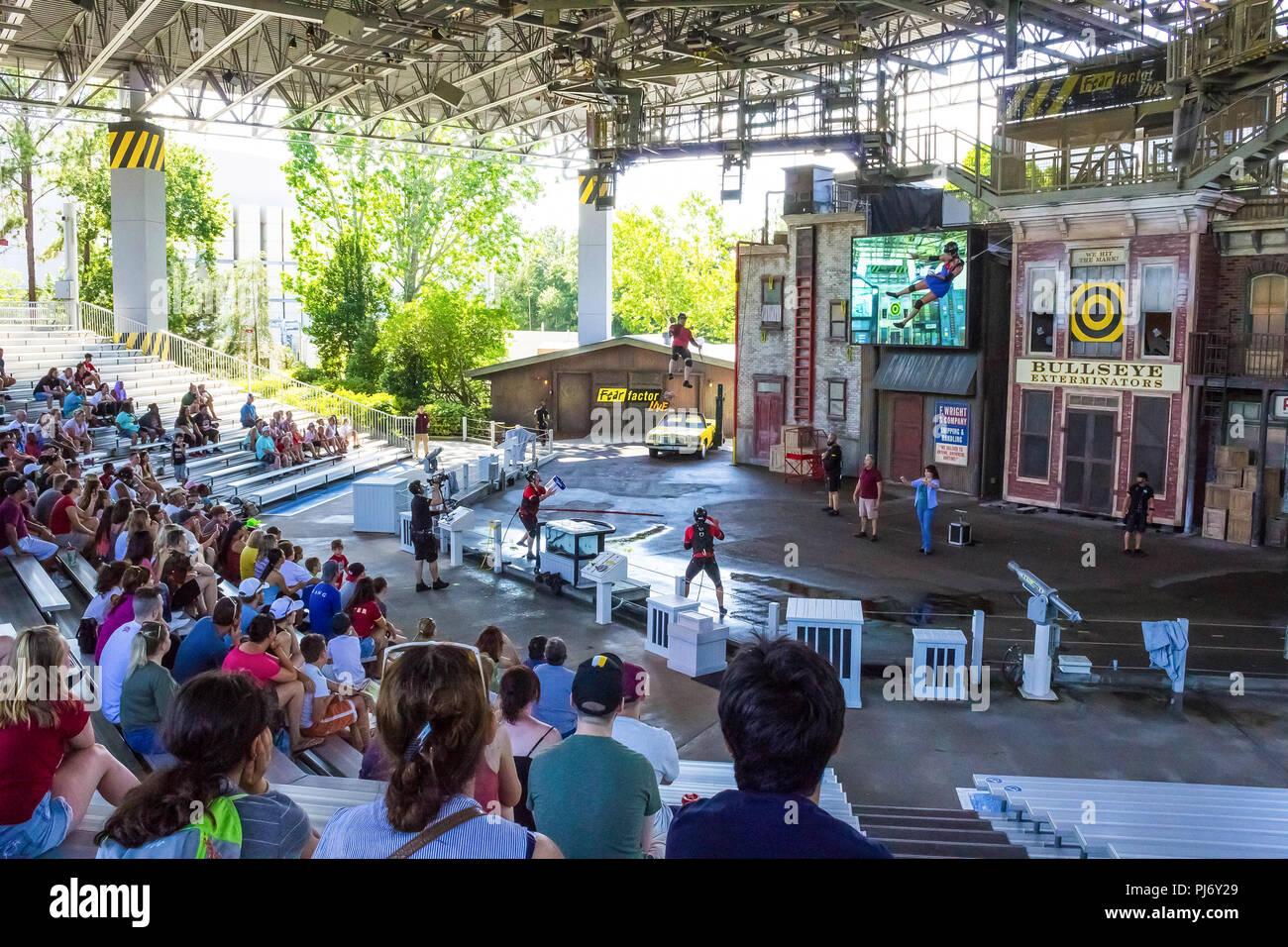 Map Of Universal Studios Florida.Orlando Florida Usa May 10 2018 The People At Park Universal