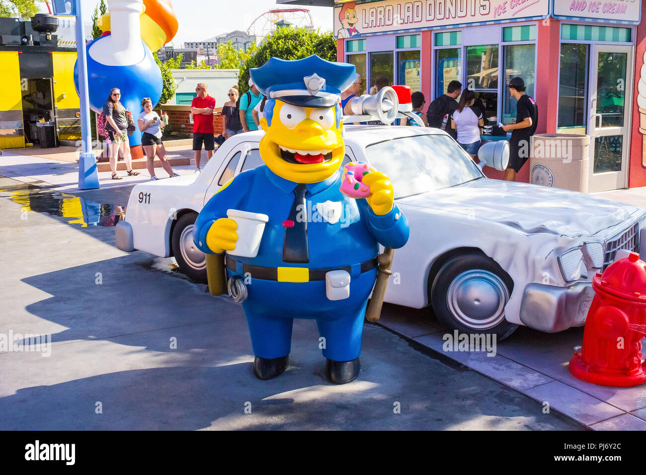 Map Of Universal Studios Florida.Orlando Florida Usa May 10 2018 The People Going At Park