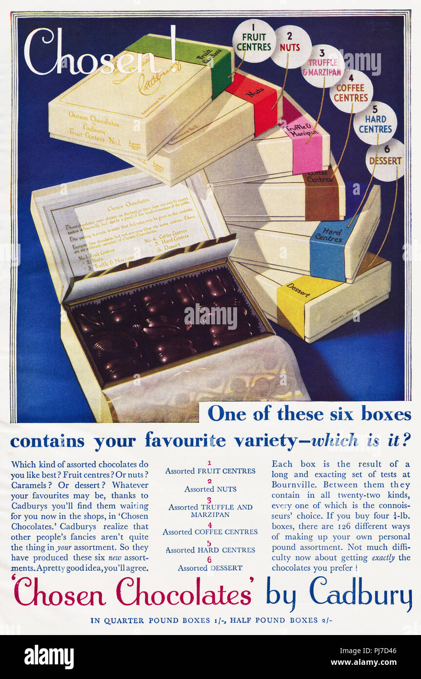 Vintage Candy Ads Stock Photos & Vintage Candy Ads Stock
