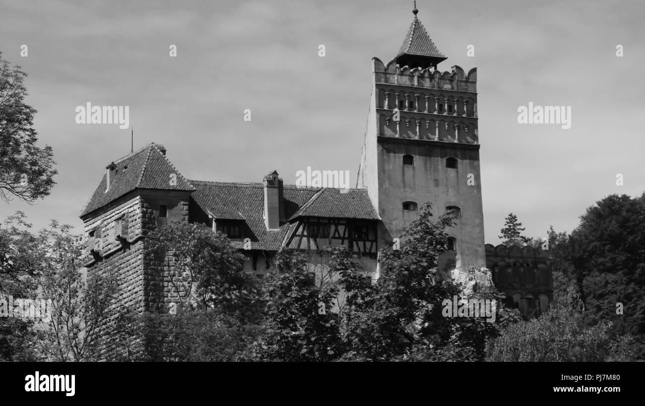 Dracul Castelul - Stock Image