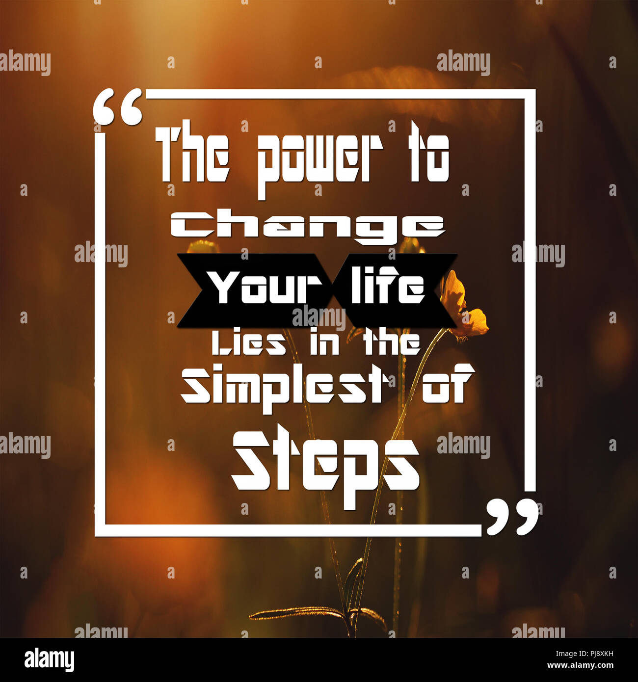 Inspirational Quotes The Power To Change Your Life Lies In The