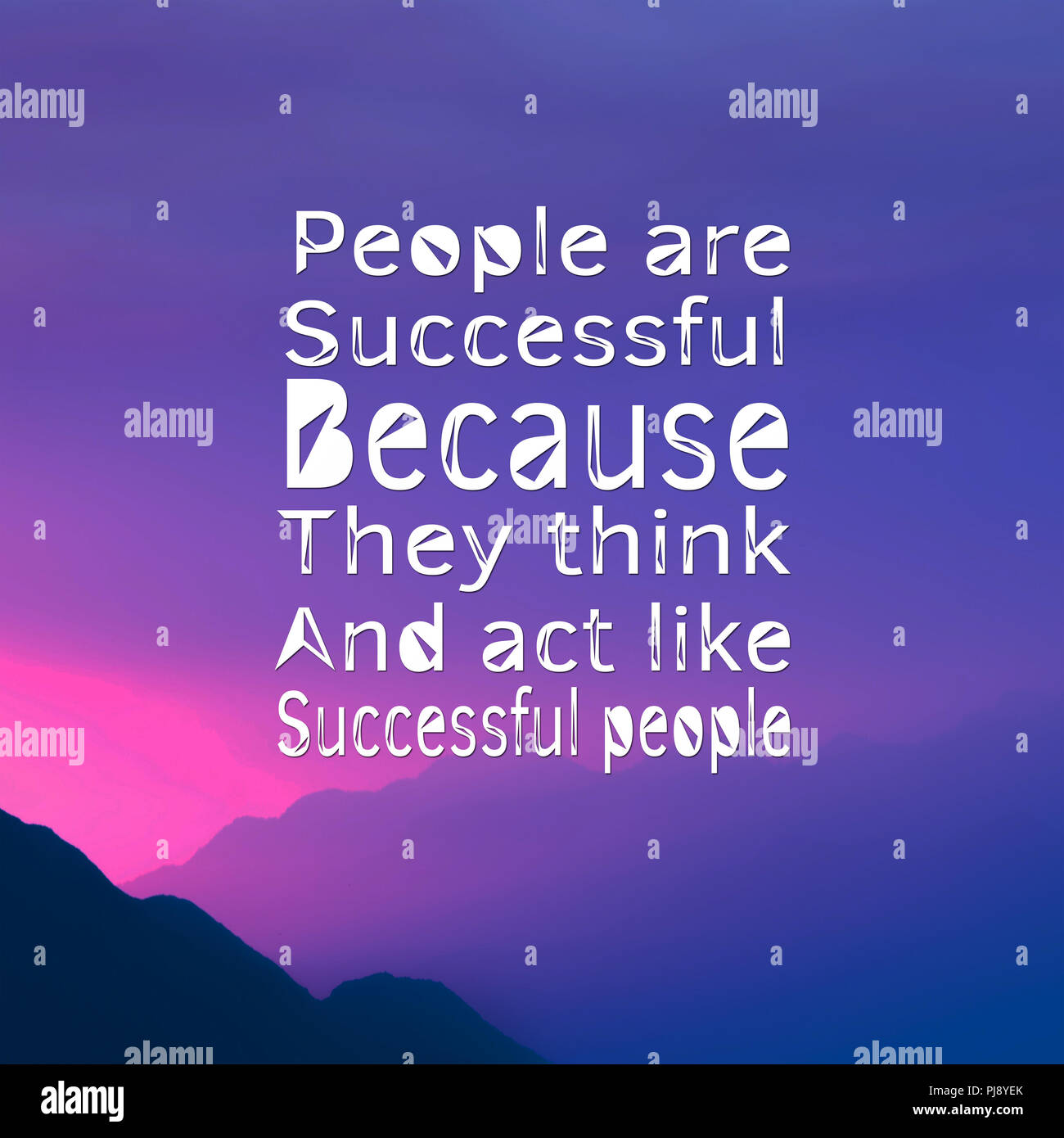 C Stock Quote: Inspirational Quotes: People Are Successful Because They