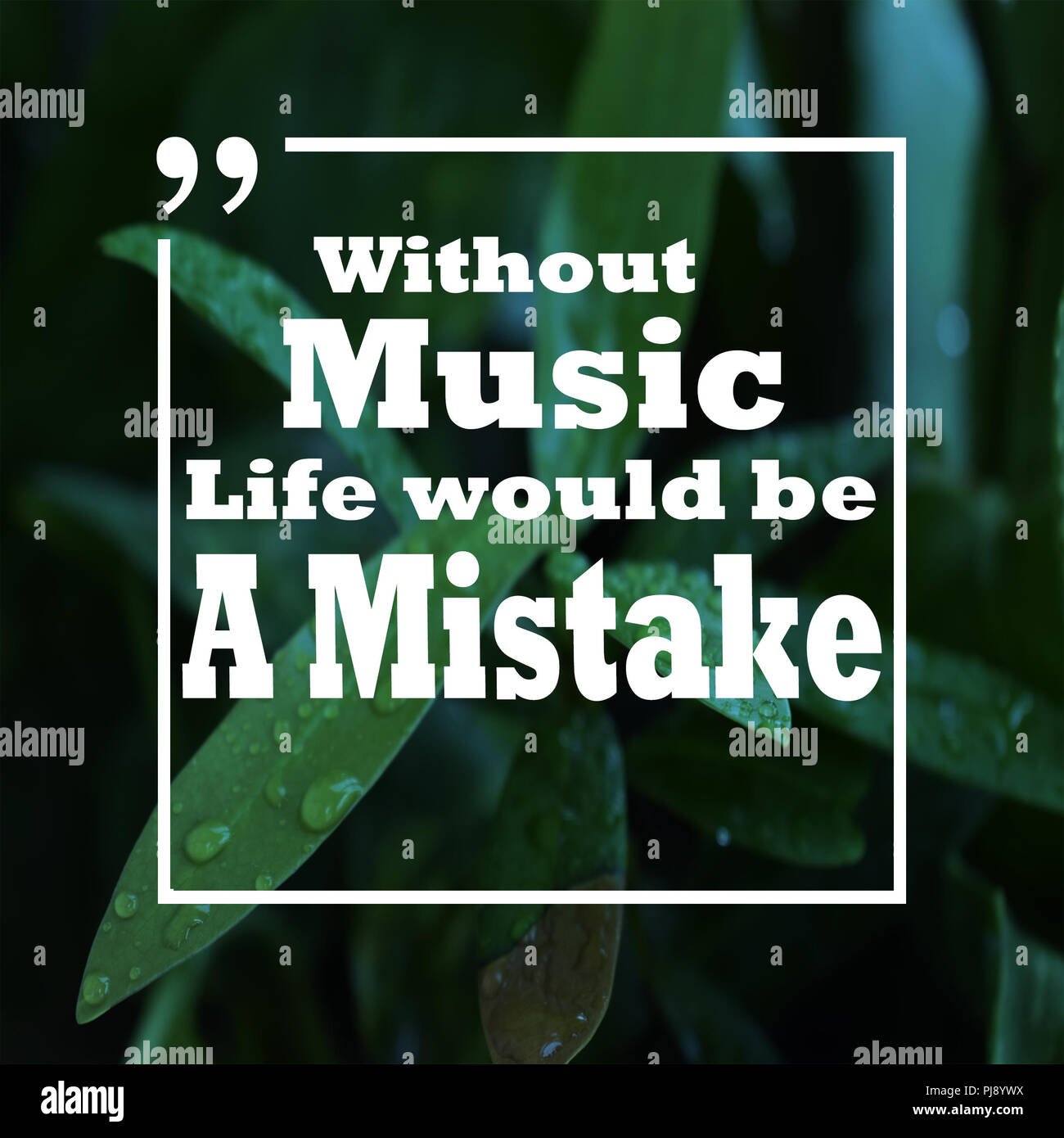 Music Quote Poster Stock Photos Music Quote Poster Stock Images