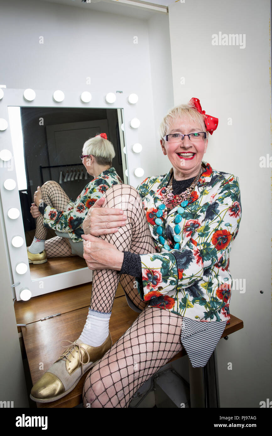 Susan Georgina 'Su' Pollard,  English comedy actress and singer, most famous for her roles in the sitcoms Hi-de Hi! - Stock Image