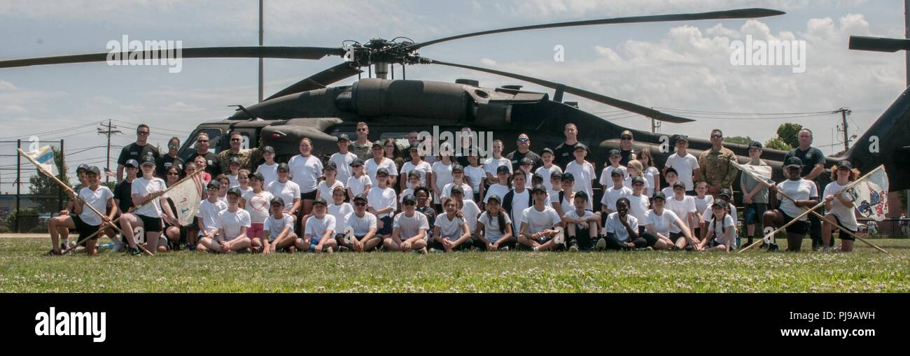 BOSTON – Cadets and Instructors from Everett Junior Police