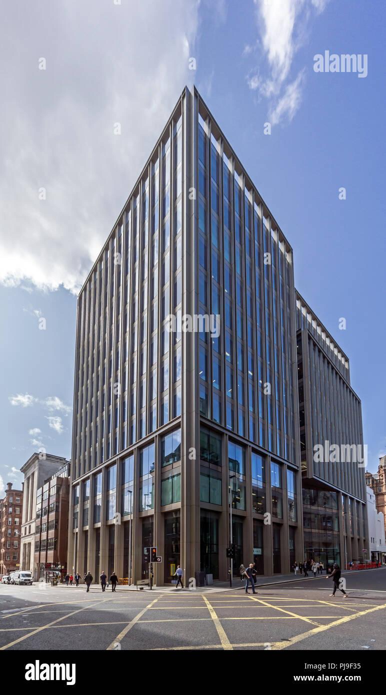 Doner House 85 West Nile Street in Glasgow Scotland UK - Stock Image