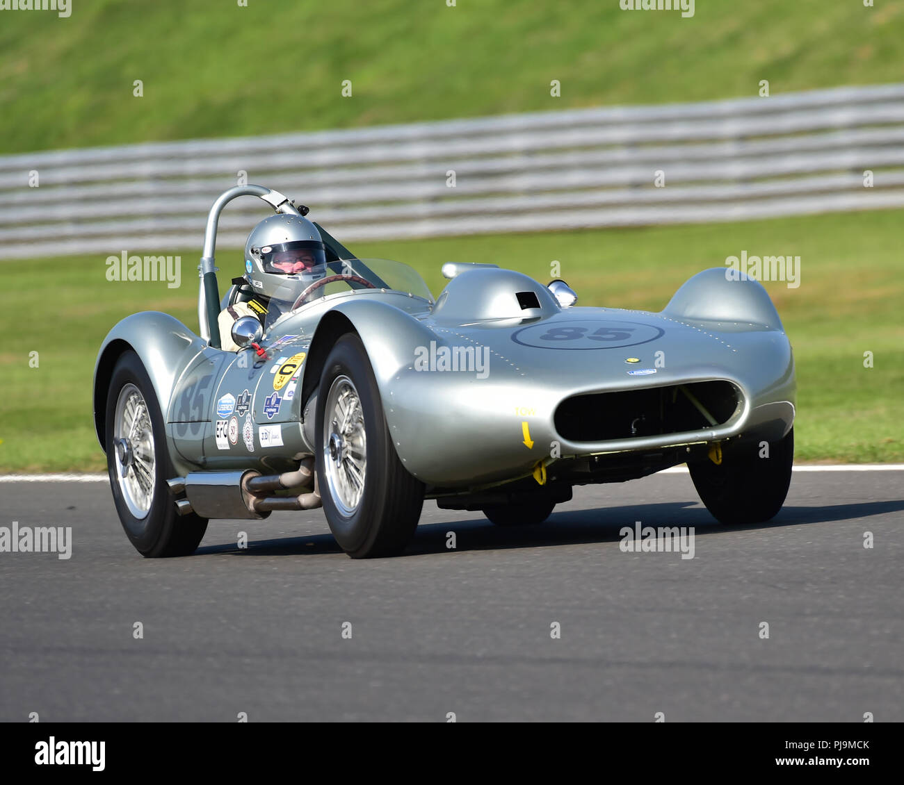 Aston Martin Owners Club Racing Stock Photos & Aston