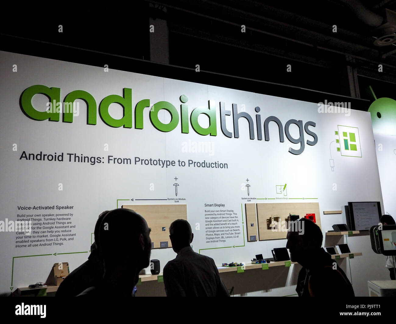 androidthings, IFA 2018, Berlin, Internationale Funkaustellung Stock